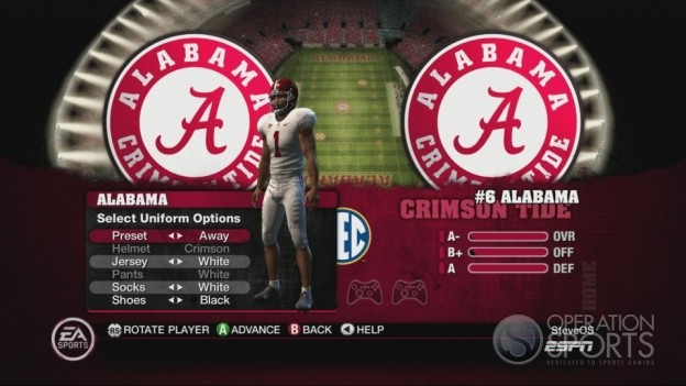 NCAA Football 10 Screenshot #511 for Xbox 360