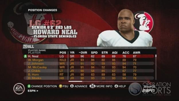 NCAA Football 10 Screenshot #527 for Xbox 360