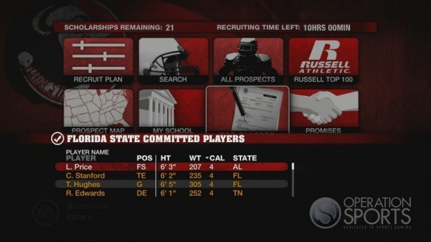 NCAA Football 10 Screenshot #528 for Xbox 360