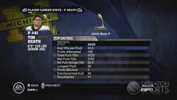 NCAA Football 10 Screenshot #533 for Xbox 360