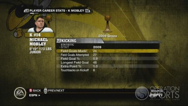 NCAA Football 10 Screenshot #534 for Xbox 360