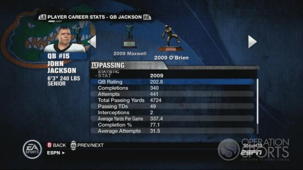 NCAA Football 10 Screenshot #543 for Xbox 360