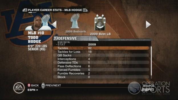 NCAA Football 10 Screenshot #544 for Xbox 360
