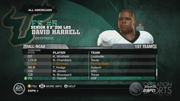 NCAA Football 10 Screenshot #546 for Xbox 360