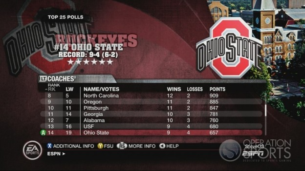 NCAA Football 10 Screenshot #552 for Xbox 360