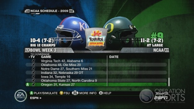 NCAA Football 10 Screenshot #557 for Xbox 360