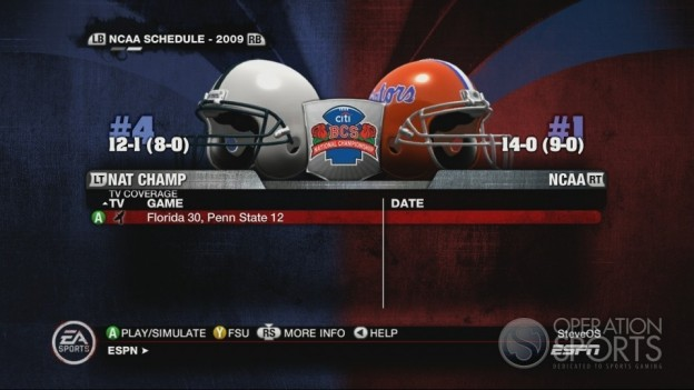 NCAA Football 10 Screenshot #558 for Xbox 360