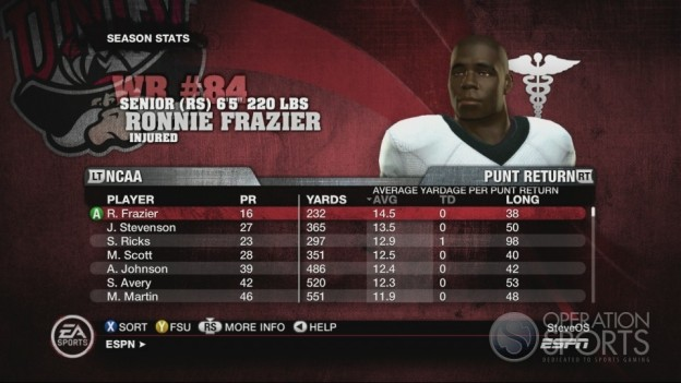 NCAA Football 10 Screenshot #571 for Xbox 360