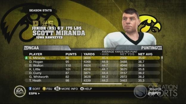 NCAA Football 10 Screenshot #573 for Xbox 360