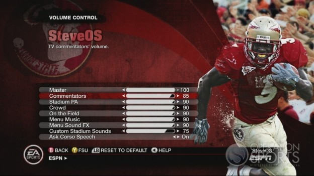 NCAA Football 10 Screenshot #582 for Xbox 360