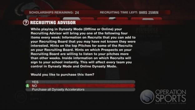 NCAA Football 10 Screenshot #606 for Xbox 360