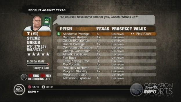 NCAA Football 10 Screenshot #614 for Xbox 360