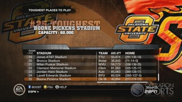 NCAA Football 10 Screenshot #623 for Xbox 360