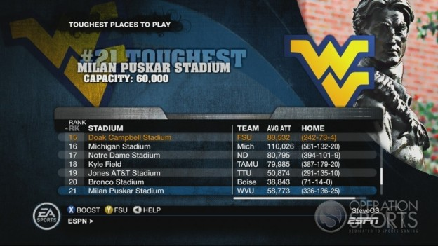 NCAA Football 10 Screenshot #625 for Xbox 360