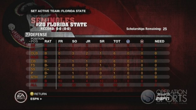 NCAA Football 10 Screenshot #658 for Xbox 360