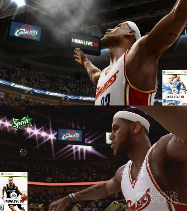 NBA Live 10 Screenshot #3 for Xbox 360
