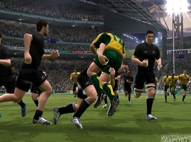 Rugby 08 Screenshot #1 for PS2