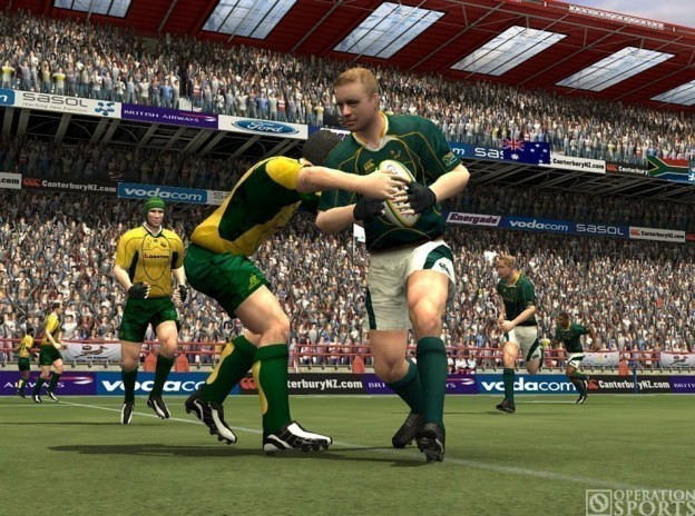Rugby 08 Screenshot #2 for PS2