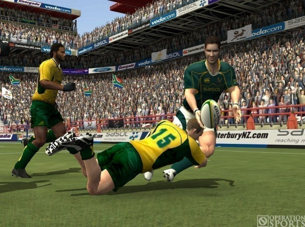 Rugby 08 Screenshot #3 for PS2