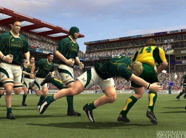 Rugby 08 Screenshot #4 for PS2