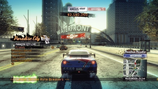 Burnout Paradise Screenshot #9 for Xbox 360