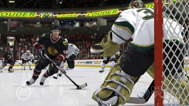 NHL 10 Screenshot #5 for Xbox 360