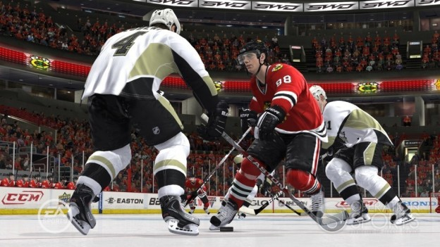 NHL 10 Screenshot #6 for Xbox 360