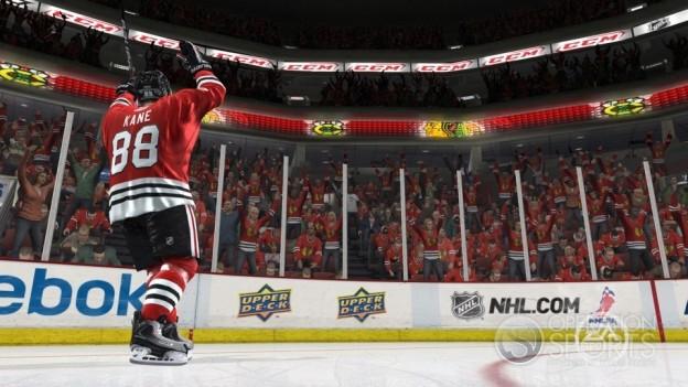NHL 10 Screenshot #10 for Xbox 360