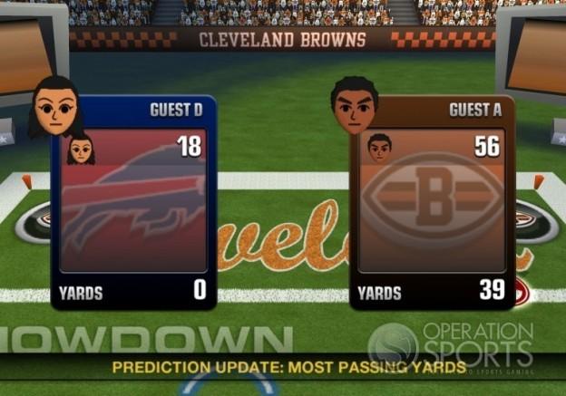 Madden NFL 10 Screenshot #86 for Wii