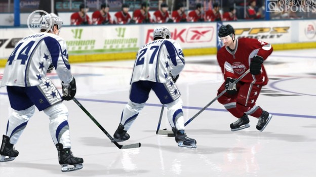 NHL 08 Screenshot #6 for Xbox 360