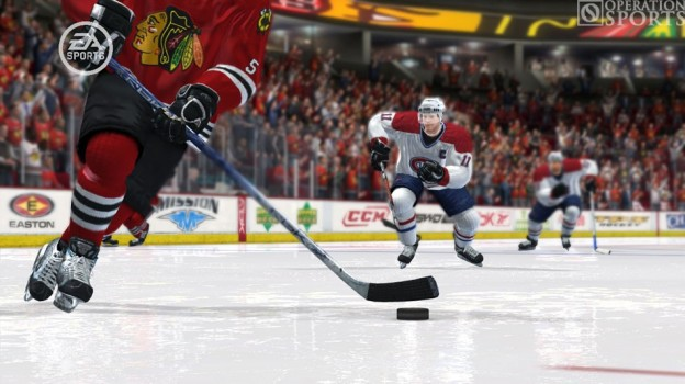 NHL 08 Screenshot #7 for Xbox 360