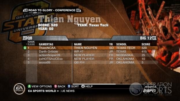 NCAA Football 10 Screenshot #678 for Xbox 360