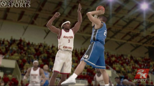 College Hoops 2K6 Screenshot #4 for Xbox 360