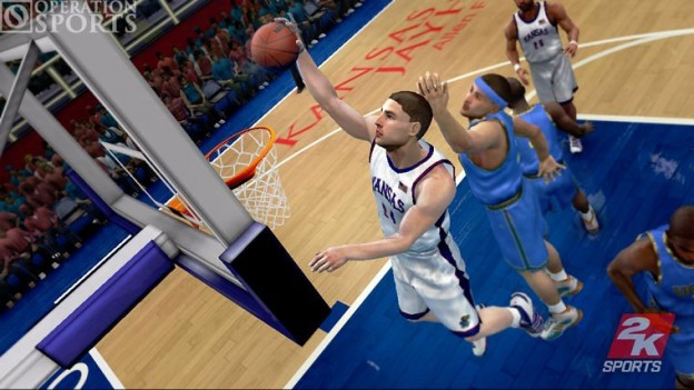College Hoops 2K7 Screenshot #2 for Xbox 360