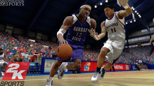 College Hoops 2K8 Screenshot #4 for Xbox 360