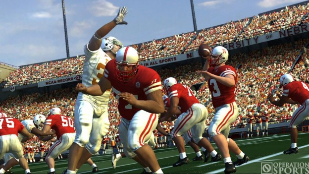 NCAA Football 07 Screenshot #1 for Xbox 360