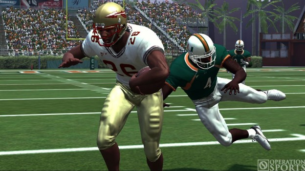 NCAA Football 07 Screenshot #4 for Xbox 360
