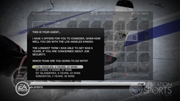 NHL 10 Screenshot #12 for Xbox 360