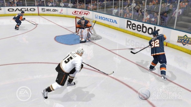 NHL 10 Screenshot #18 for Xbox 360