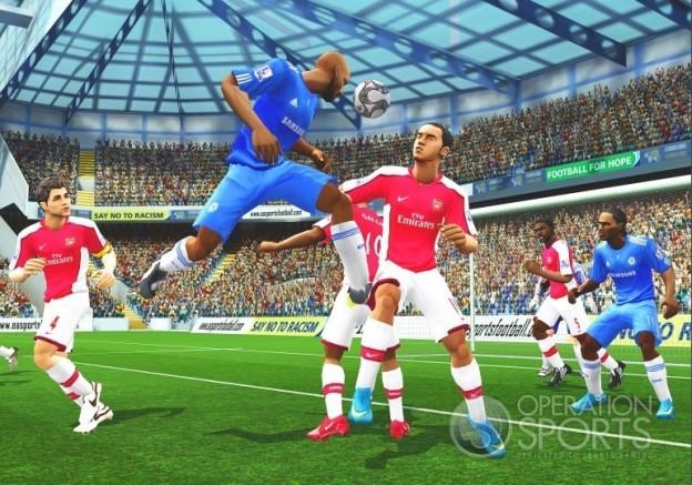 FIFA Soccer 10 Screenshot #3 for Wii