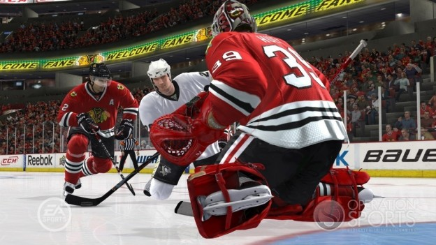 NHL 10 Screenshot #19 for Xbox 360