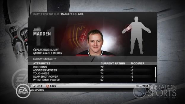 NHL 10 Screenshot #24 for Xbox 360