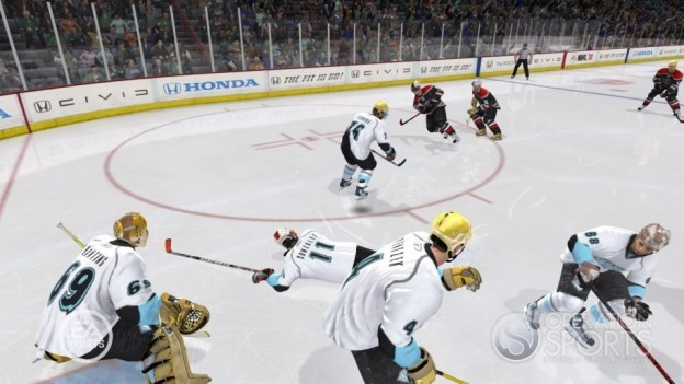 NHL 10 Screenshot #27 for Xbox 360