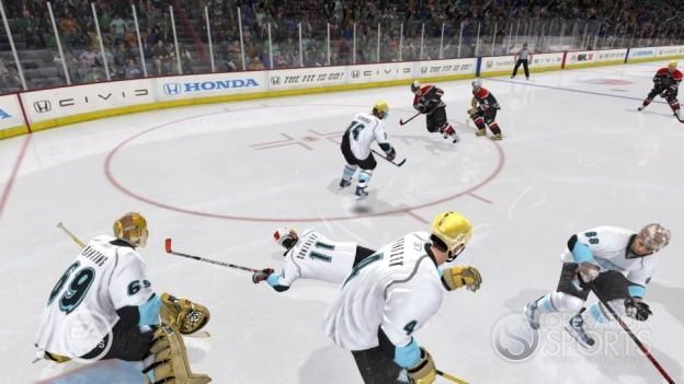 NHL 10 Screenshot #27 for Xbox 360