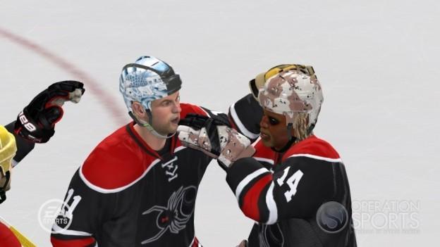 NHL 10 Screenshot #28 for Xbox 360