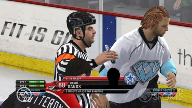 NHL 10 Screenshot #29 for Xbox 360