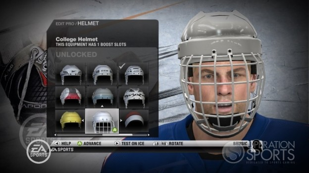 NHL 10 Screenshot #30 for Xbox 360