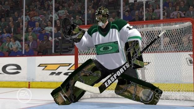 NHL 10 Screenshot #32 for Xbox 360