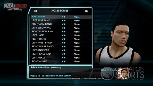 NBA 2K10: Draft Combine Screenshot #1 for Xbox 360