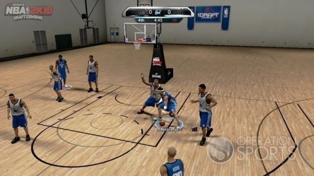 NBA 2K10: Draft Combine Screenshot #3 for Xbox 360